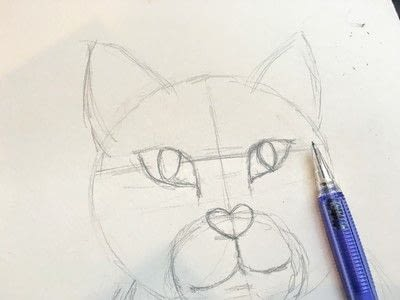 How to draw a pastel drawing. Pastel Cat - Step 10