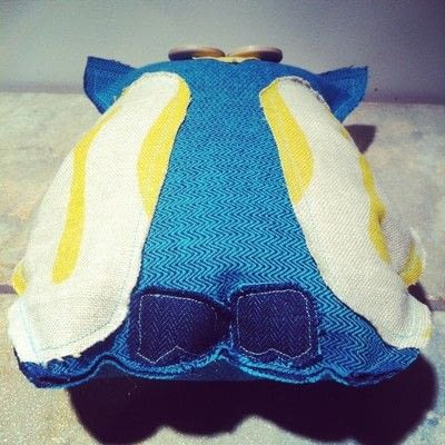How to make a Mew plushie. Upcycled Scrap Fabric Stuffie - Step 7