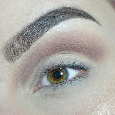 How to create a cut crease eye makeup look. Cut Crease with gold & brown shades! - Step 3