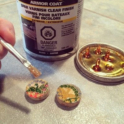 How to make a dangle earring. Upcycled Wine Cork Jewelry - Step 7