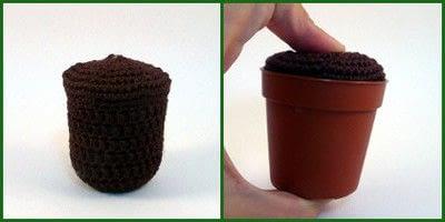 How to make a crochet. Amigurumi Cactus - Step 1