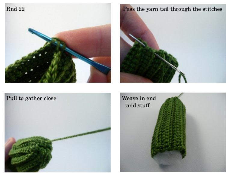 DIY Amigurumi Crochet Kawaii Cactus - YouTube   589x765