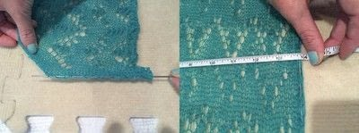 How to knit . How To Block Knitted Garments - Step 12