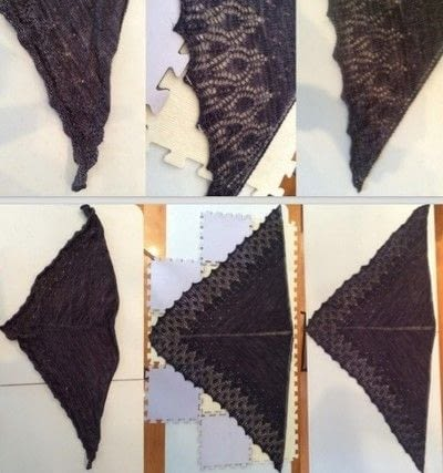 How to knit . How To Block Knitted Garments - Step 16