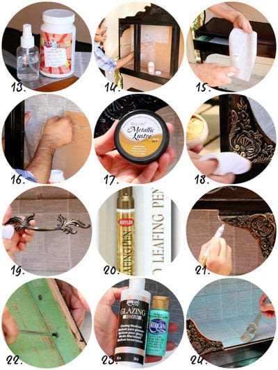 How to make furniture. Curiosity Cabinet Diy - Step 4