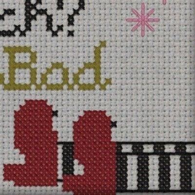 How to cross stitch . Good Witch Bad Witch Of Oz Cross Stitch Pattern  - Step 3