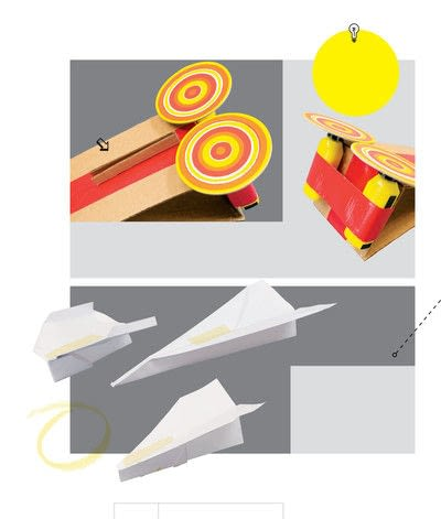 How to make a plushie toy. Paper Plane Launcher - Step 7