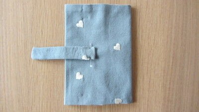 How to make a passport cover. Passport Cover - Step 6