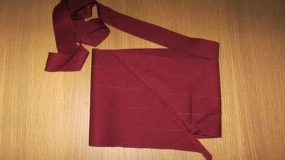 How to sew a binding. Continuous Loop Bias Binding - Step 7