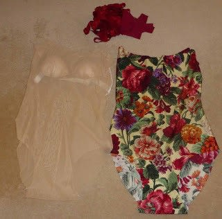 How to make a swimsuit. Supportive Swimwear - Step 1