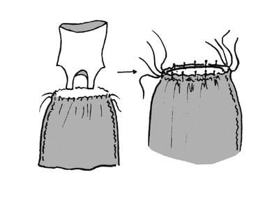 How to sew a maxi dress. Versatile Knit Dress - Step 21