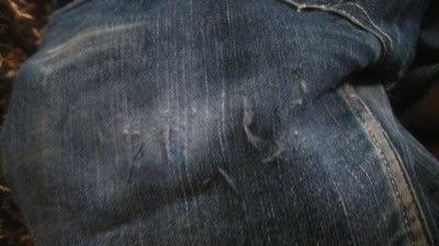 How to make a pair of denim shorts. Diy Rugged Shorts - Step 3