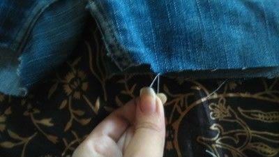 How to make a pair of denim shorts. Diy Rugged Shorts - Step 10
