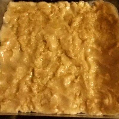 How to bake a sweet pie / sweet tart. Cookie Dough Cobbler - Step 2