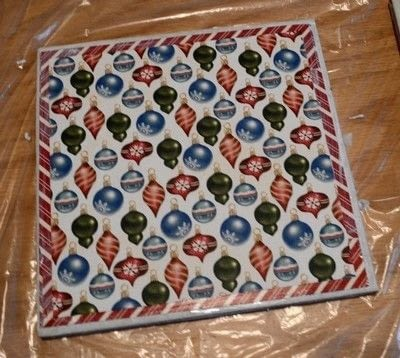 How to make a pot holder / pot stand. Personalized Trivets - Step 5
