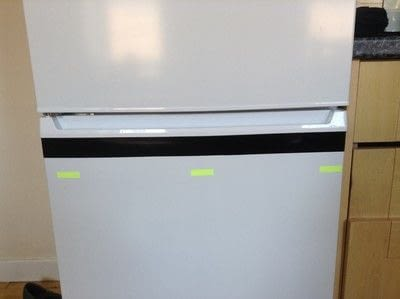 How to make a wall decal. Fridge Revamp - Step 2