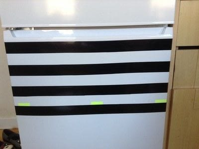 How to make a wall decal. Fridge Revamp - Step 3