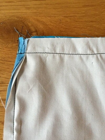 How to sew a zipper. How To Sew An Invisible Zip With Lining And No Hand Stitching - Step 5