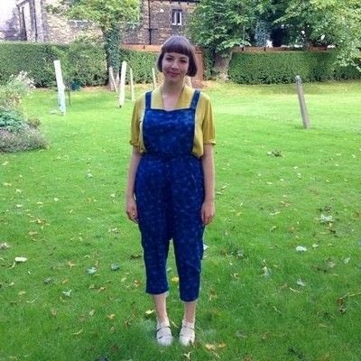How to make a piece of clothing. DIY Detachable Dungaree Bib - Step 13