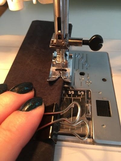 How to make a handles. Super Strong Bag Handles - Step 6