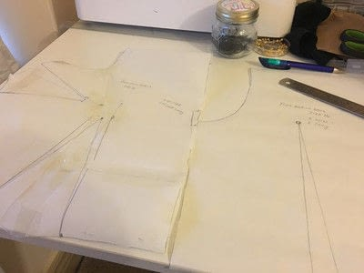 How to make a piece of clothing. The Culotte Jumpsuit - Step 2