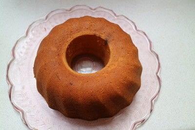 How to bake a bundt cake. Tequila Citrus Cake - Step 8