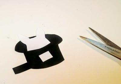 How to make a shrink plastic pendant. Abracadabra Necklace - Step 3