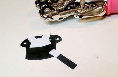 How to make a shrink plastic pendant. Abracadabra Necklace - Step 4