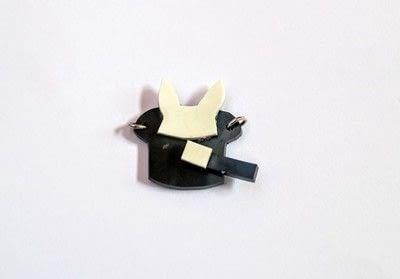 How to make a shrink plastic pendant. Abracadabra Necklace - Step 8