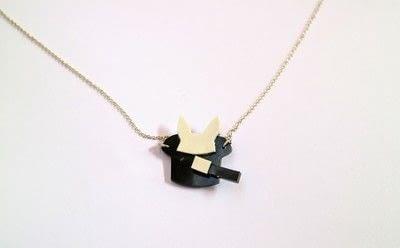 How to make a shrink plastic pendant. Abracadabra Necklace - Step 9