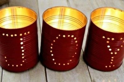 How to make a candle. Extravagant Party Decoration With Diy Luminaries - Step 4