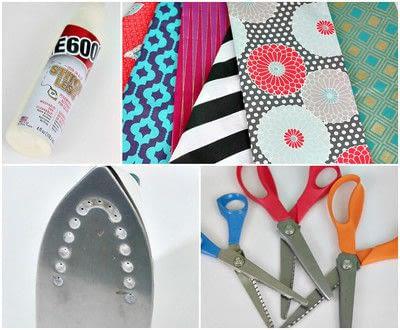 How to make a supplies. No Sew Boho Ribbon - Step 2