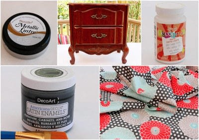 How to make a bedside table. Roadside Rescue Nightstand Makeover - Step 2
