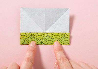 How to fold an origami shape. Kemari Origami Ball - Step 1