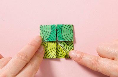 How to fold an origami shape. Kemari Origami Ball - Step 5