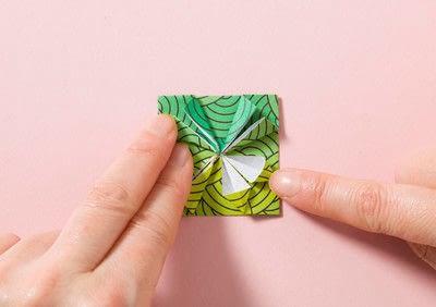 How to fold an origami shape. Kemari Origami Ball - Step 6