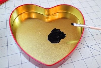 How to make a decorative light. Chocolate Box Marquee - Step 2