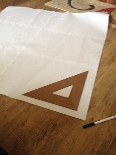 How to make a circle skirt. How To Draft Your Own Circle Skirt - Step 3