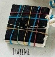 How to tie-dye . Shibori Inspired Tie Dye - Step 3