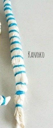How to tie-dye . Shibori Inspired Tie Dye - Step 6