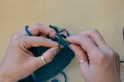 How to knit a brioche stitch. Brioche Stitch With Diagonal Yarn Over - Step 13