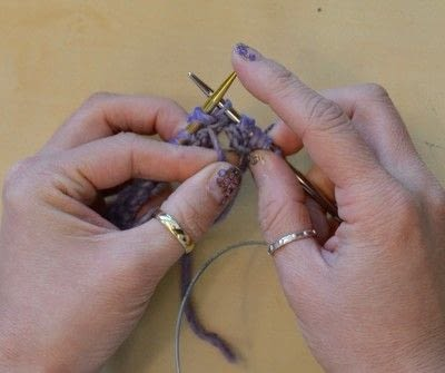 How to knit . The Yarn Over (Yo) - Step 24
