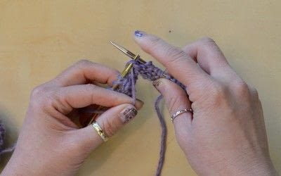 How to knit . The Yarn Over (Yo) - Step 30