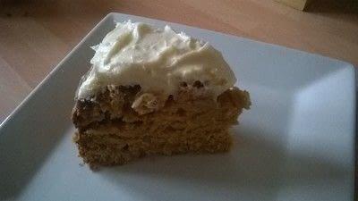 How to bake a pumpkin cake. Butternut Squash Cake - Step 8