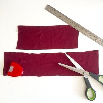 How to make a piece of clothing. Cold Shoulder Inserts - Step 1