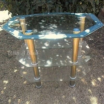 How to make a table. How To Spray Paint A Glass Table - Step 1