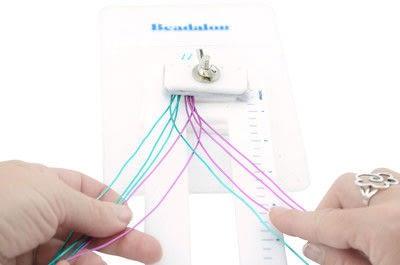 How to make a cuff. Artistic Wire Braided Cuff Bracelet - Step 10