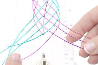 How to make a cuff. Artistic Wire Braided Cuff Bracelet - Step 20