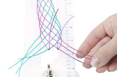 How to make a cuff. Artistic Wire Braided Cuff Bracelet - Step 21
