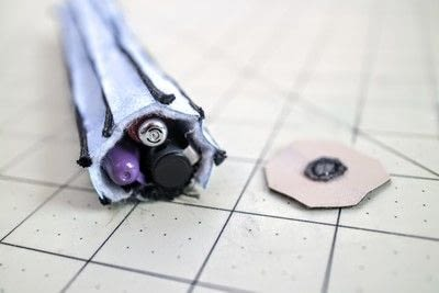 How to make a zipper pouch. 3D VS 2D Pencil Case - Step 17